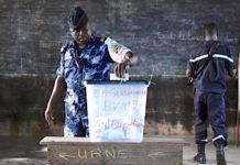 Les forces de sécurité et de défense votent par anticipation ce mercredi