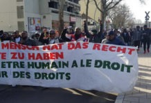 Manif contre Scantogo en Allemagne | Photo : DR