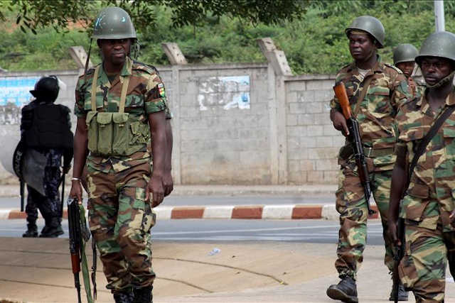 militaires pour faure gnassingbe