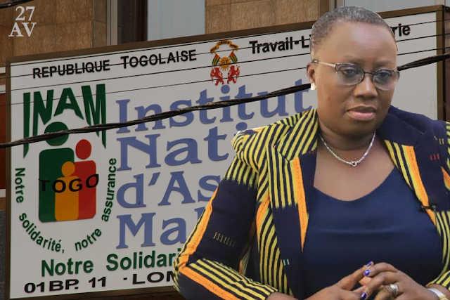 La DG de l'INAM Myriam Dossou d'Almeida