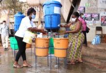 Coronavirus : les marchés de Lomé dotés d'équipements et de matériels de prévention