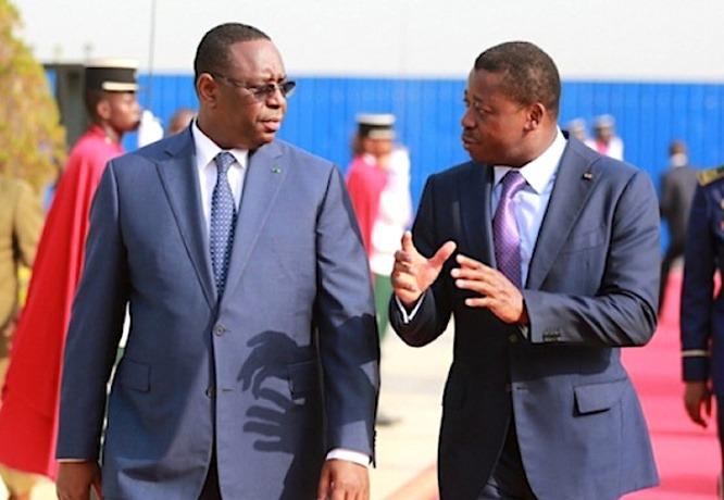 Macky Sall félicite Faure Gnassingbé pour sa réélection