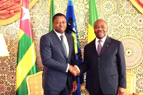 Ali Bongo félicite Faure Gnassingbé pour sa réélection et rend hommage au Peuple Togolais pour sa maturité