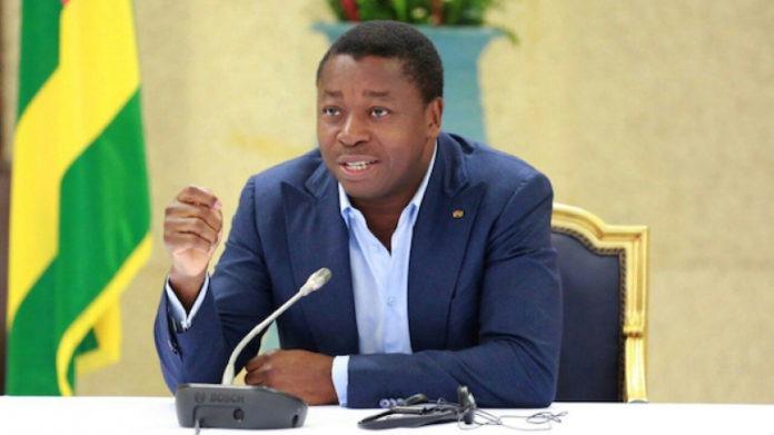 Faure Gnassingbé : « place au travail, en humilité »