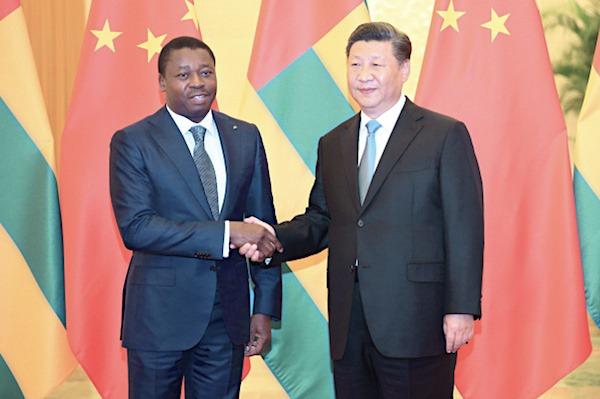 Xi Jinping exprime « sa grande joie » à Faure Gnassingbé suite à sa réélection