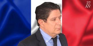 L'ambassadeur de la France au Togo, le sieur Marc Vizy | Infog : 27avril.com