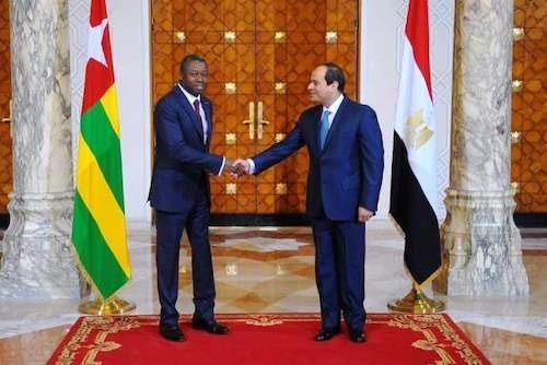 Les félicitations d'Abdel Fattah Al Sisi à SEM Faure Essozimna Gnassingbé à l'occasion de sa réélection