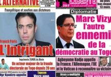 colons francais font suspendre des journaux togolais critiques de la france