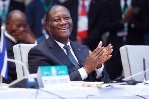 Le message de félicitations d'Alassane Ouattara à Faure Gnassingbé lu en entrée du journal télévisé de la RTI