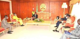 Coronavirus : nouvelle séance de travail entre le Chef de l'Etat et l'Unité opérationnelle de prise en charge