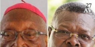 Mgr Kpodzro et Agbéyomé Kodjo | Infog : 27avril.com