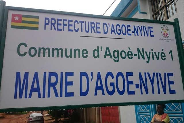 mairie agoe-nyive togo