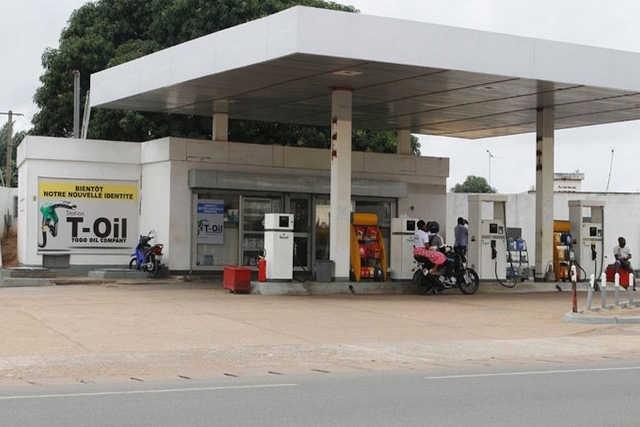 Une station de service à Lomé, Togo | Photo : DR