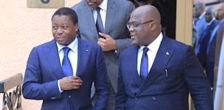 Félix Tshisekedi à Faure Gnassingbé : « Notre espérance est de vous voir réussir la délicate tâche qui vous a été confiée »