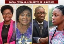 Victoire Tomégah Dogbé, Léa Tchabinandi Kolani, Koutéra Noël Bataka et . Assih Mazamaesso