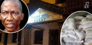 Le DG de l'ANSAT, le colonel Ouro-Koura Agadazi | Infog : 27avril.com
