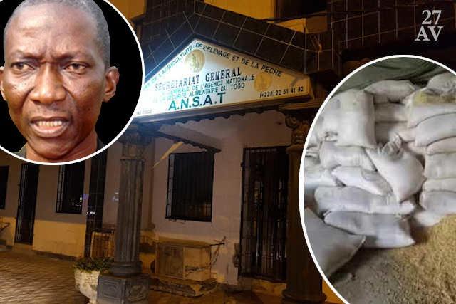Le DG de l'ANSAT, le colonel Ouro-Koura Agadazi   Infog : 27avril.com