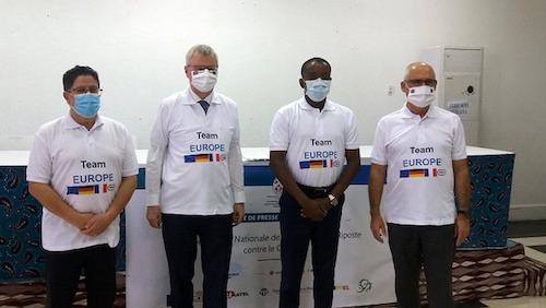 La 'Team Europe' soutient le Togo dans la lutte contre le Coronavirus