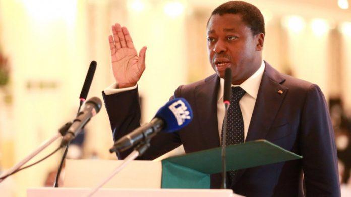 Faure Gnassingbé officiellement investi