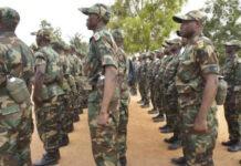 Des éléments de la soldatesque de Faure Gnassingbé