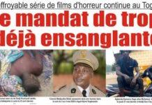 Mandat ensanglanté de faure gnassingbé