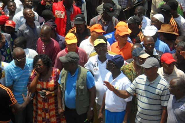 quelques leaders de l opposition togolais CST