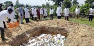 Plus de 3 tonnes de faux-médicaments vétérinaires détruits à Kara