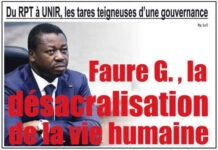 faure deception togo