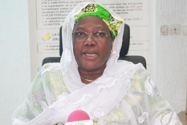 Koko Ayéva, ministre de la Ville, de l'Urbanisme, de l'Habitat et de la Salubrité Publique