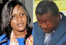 sandra johnson et faure gnassingbe