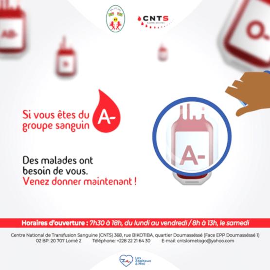 27473 la cnts lance un appel urgent au don de sang ocb