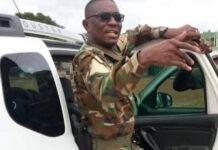 Le colonel Gandah Soklema Bataba