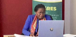Victoire Tomégah-Dogbé répond aux questions sur la promotion des produits locaux des jeunes entrepreneurs