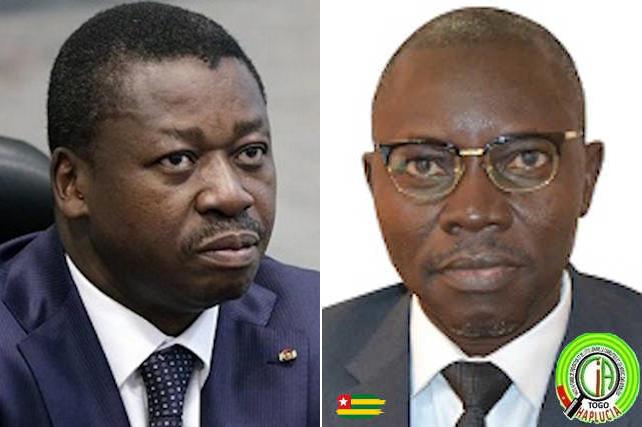 Faure Gnassingbe et Essohana Wiyao