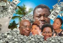 Faure Gnassingbé et sa bande