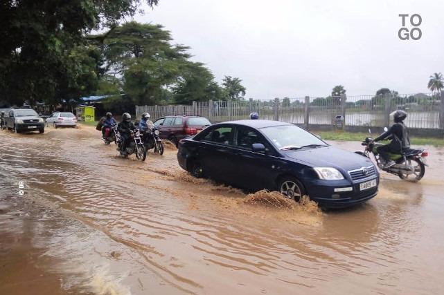 La route Lome-Kpalime
