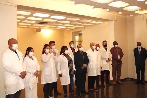 Fin de mission pour la brigade médicale cubaine