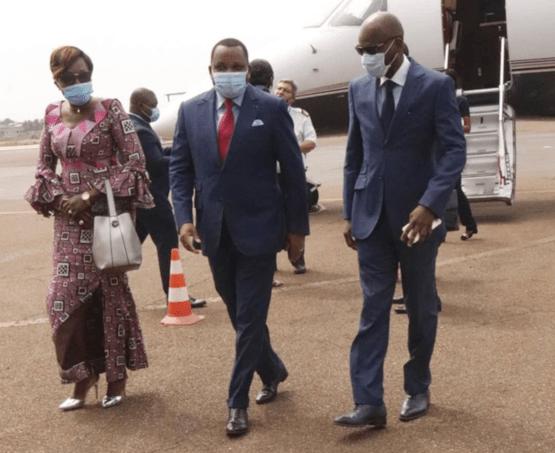 28696 le ministre congolais des affaires trangres en visite officielle au togo ocb