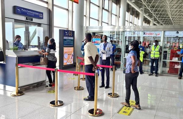 Covid-19 : situation sous contrôle à l'aéroport