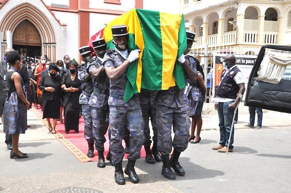 La Nation rend un dernier hommage à Edem Kodjo