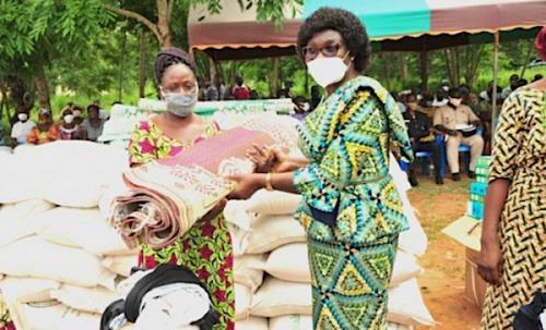 Le gouvernement au chevet des victimes de catastrophes naturelles des Savanes