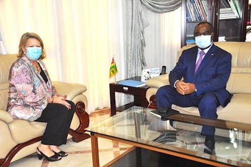 L'ambassadeur de l'UE au Togo en fin de mission