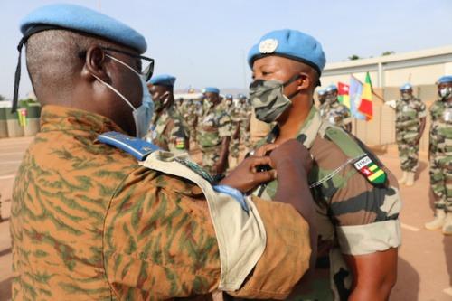 Les Nations Unies distinguent les Casques bleus Togolais déployés à Mopti