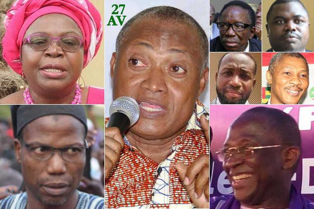 leaders politiques de l opposition au togo