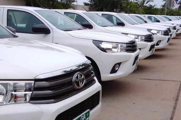 Le gouvernement dote les mairies de véhicules de commandement