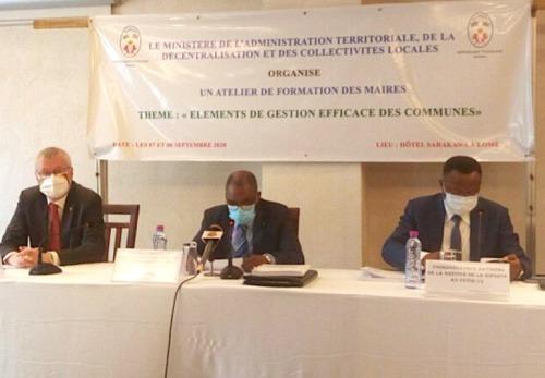 Les maires du Togo formés sur la gestion de leurs communes