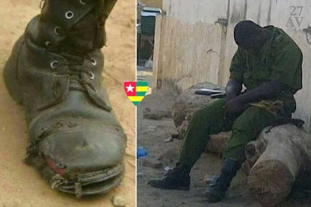 Soldat togolais