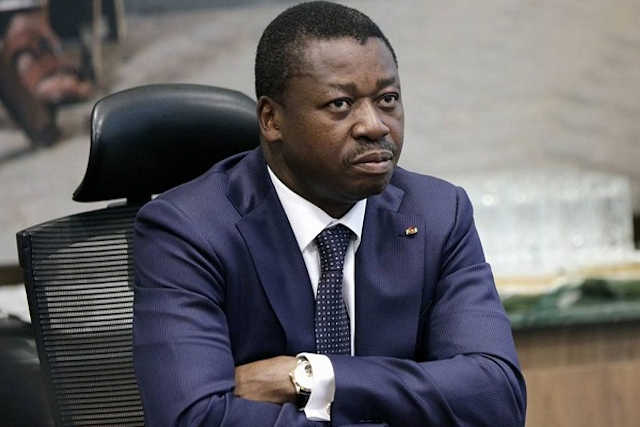 faure Gnassingbe candidat president