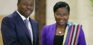 faure gnassingbe et sa copine victoire tomegah dogbe
