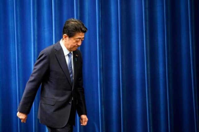 Shinzo Abe du Japon